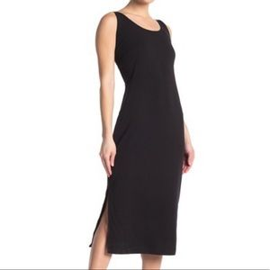 Good American Side Slit Bodycon Midi Dress